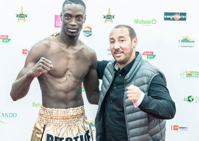 Prestige Fight gala all star muay thai Wagram 2018 Bobo Sacko Djamel Yacouben