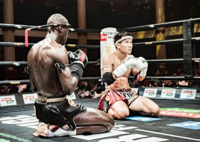 Prestige Fight gala all star muay thai Wagram 2018 Changpieuk Bobo Sacko