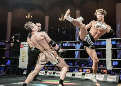 Prestige Fight gala all star muay thai Wagram 2018 Momo Taro vs Arthur Meyer