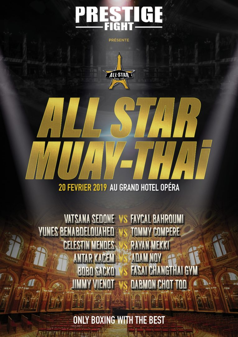 All Star Muay Thaï : Wagram I