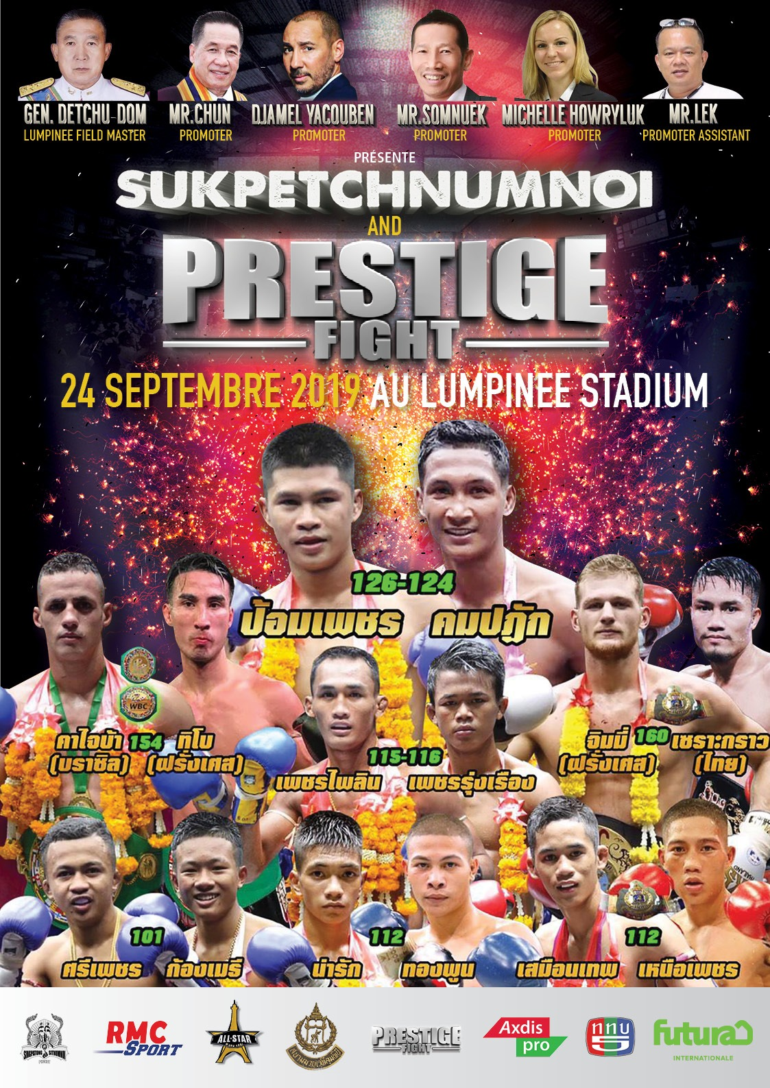 Prestige fight Next gala !